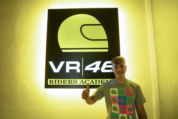Alberto Surra darf sich der VR46 Academy anschließen - Foto: VR46 Academy