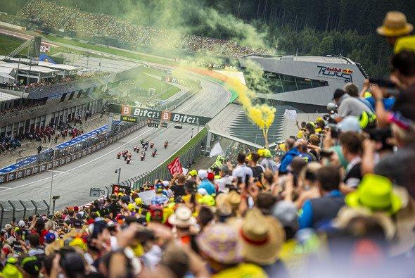 Die MotoGP gastiert im August 2022 wieder in Spielberg - Foto: Lucas Pripfl Red Bull Content Pool