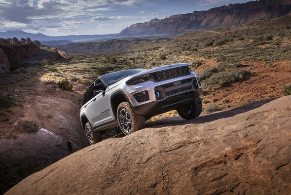 Jeep Grand Cherokee 4xe Trailhawk - Foto: Jeep