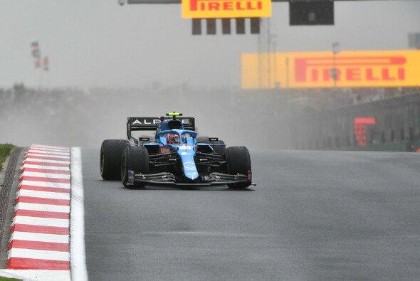 Esteban Ocon sammelte beim Türkei-GP einen Punkt obwohl er keinen einzigen Stopp einlegte. - Foto: LAT Images