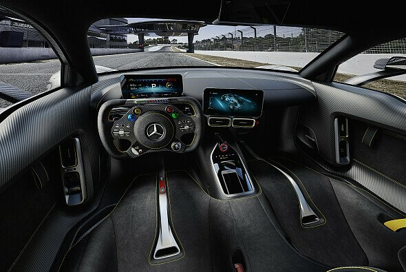 Das Cockpit des Mercedes AMG Project One - Foto: Mercedes-Benz