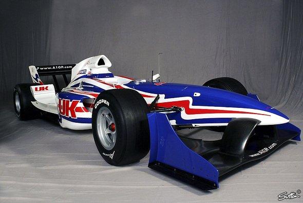Der britische A1-Renner wird seinen Heim-GP eine Woche später bestreiten. - Foto: Sutton