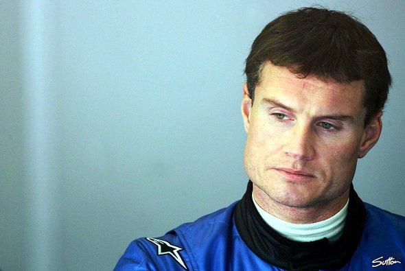 David Coulthard wird von seinen Fahrer-Kollegen bereits 'Onkel David´ genannt… - Foto: Sutton