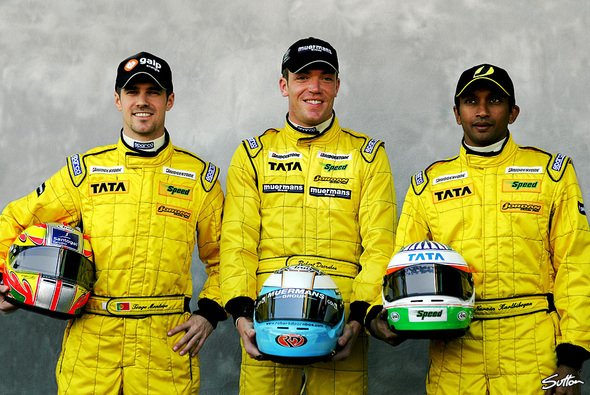 Die drei Jordan-Piloten. - Foto: Sutton