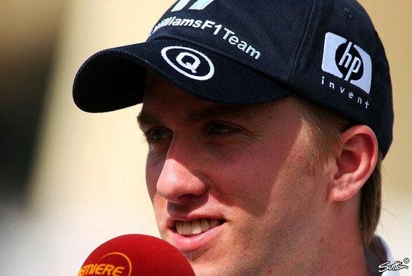 Nick weilte heute auf dem Nürburgring - Foto: Sutton