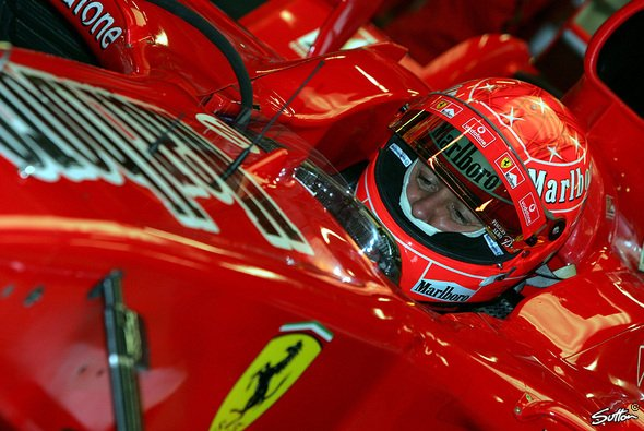 125 Runden für Michael Schumacher - es besteht bekanntlich Testbedarf... - Foto: Sutton