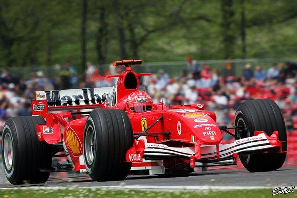 Michael Schumacher war der beste Deutsche. - Foto: Sutton