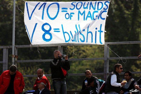 Schon bei den V8-Motoren protestierten die Fans