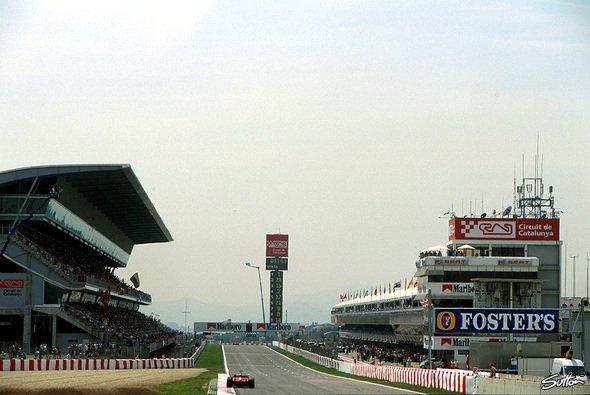 Der Circuit de Catalunya ist die Paradeteststrecke der F1-Welt. - Foto: Sutton