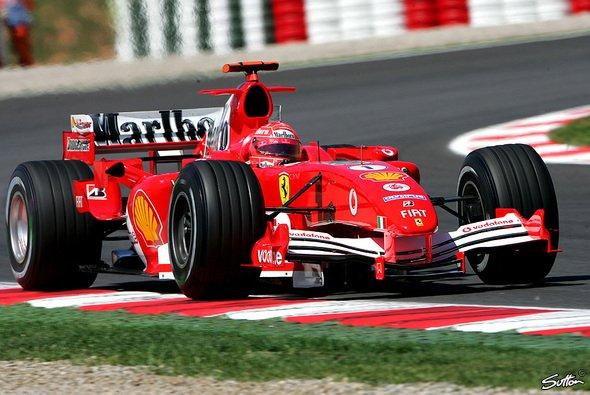 Michael Schumacher war heute nur der drittbeste Deutsche. - Foto: Sutton