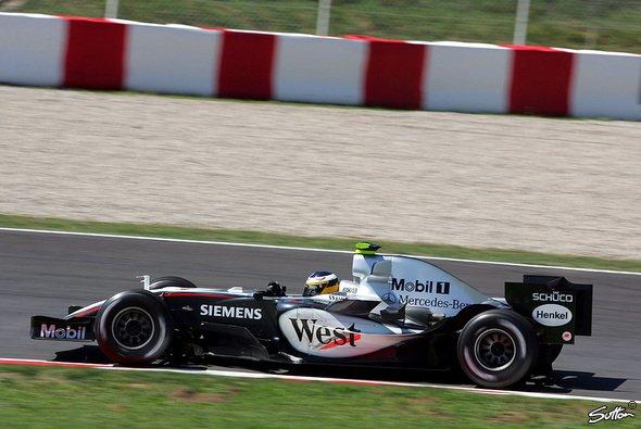 McLaren: Montoya nach Unfall wohlauf - Foto: Sutton
