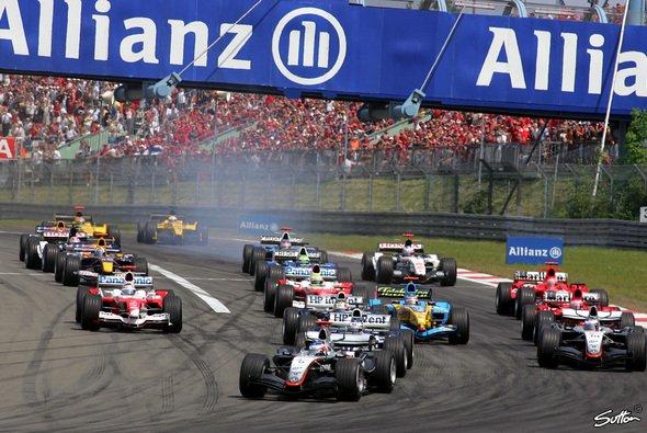 Die Formel 1 fährt wieder am Nürburgring.