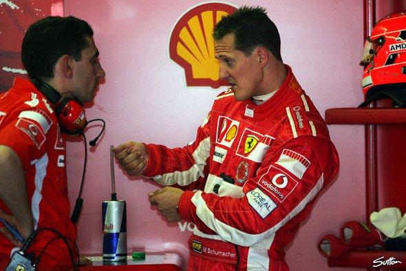 Schumacher arbeitete hart für den Erfolg - Foto: Sutton