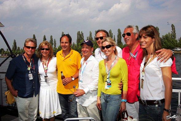 Gerhard Berger bei seinem F1-Besuch in Kanada. - Foto: Sutton