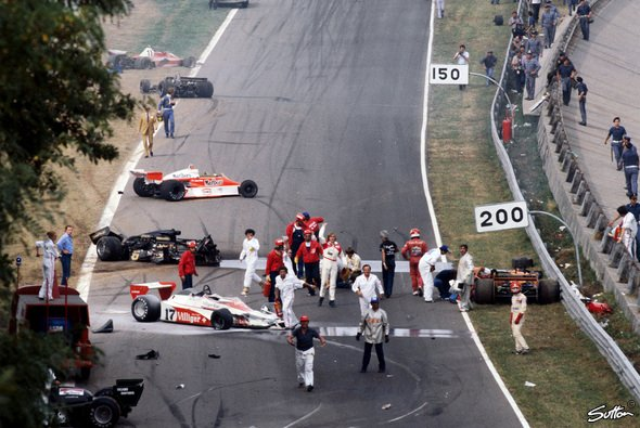 Das Inferno von Monza 1978 - Foto: Sutton