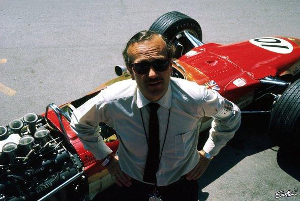 Lotus-Gründer Colin Chapman ist in der Formel 1 als Konstrukteur und Teamchef eine Legende - Foto: Sutton