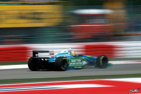 Der häufigste Weltmeister: Michael Schumacher. - Foto: Sutton