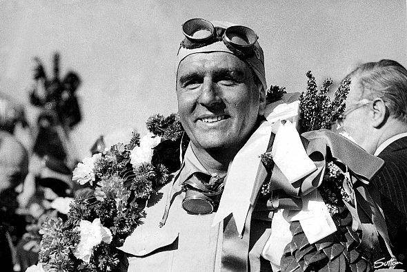 Er war der erste Weltmeister: Giuseppe Farina. - Foto: Sutton
