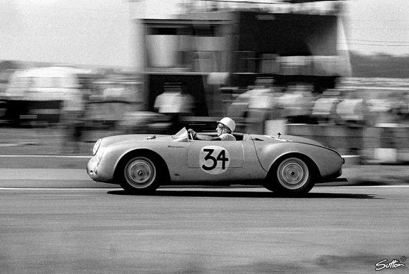 Nur Stirling Moss konnte Fangio folgen. - Foto: Sutton