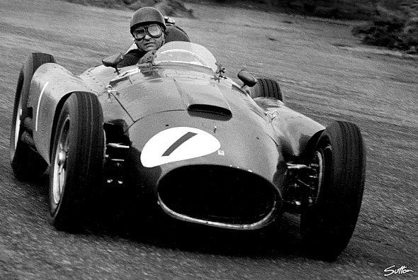 Juan Manuel Fangio war wieder nicht zu stoppen. - Foto: Sutton