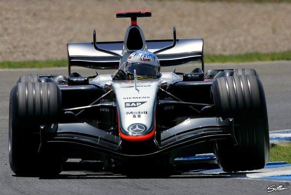 Alex Wurz ersetzte in Jerez Kimi Räikkönen. - Foto: Sutton