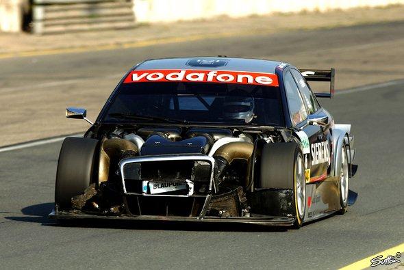 Die neue Optik von Allan McNishs Audi war wenig attraktiv. - Foto: Sutton