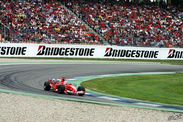 Der Große Preis von Deutschland der Formel 1 kämpft Jahr für Jahr aufs Neue um seine Existenz - Foto: Sutton