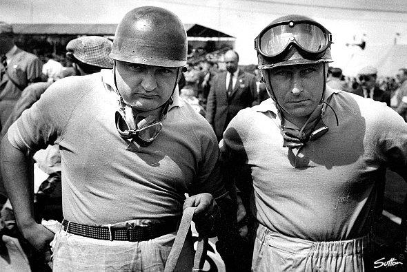 Neben Fangio: Gonzales war für seine bullige Statur bekannt