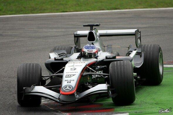 Räikkönen ist Favorit in Monza - aber er muss mehr Punkte auf Alonso gutmachen. - Foto: Sutton