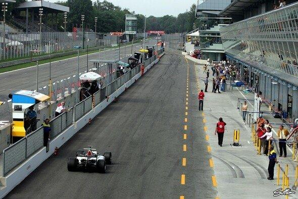 Monza ist bereit für die Formel 1. - Foto: Sutton