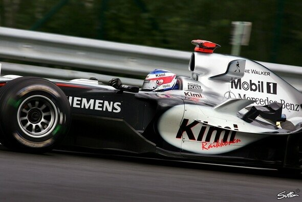 Kimi Räikkönen holte sich seine zweite Bestzeit des Wochenendes. - Foto: Sutton