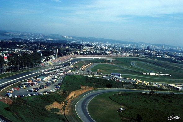 Die Formel 1 bleibt in der Mega-Metropole Sao Paulo