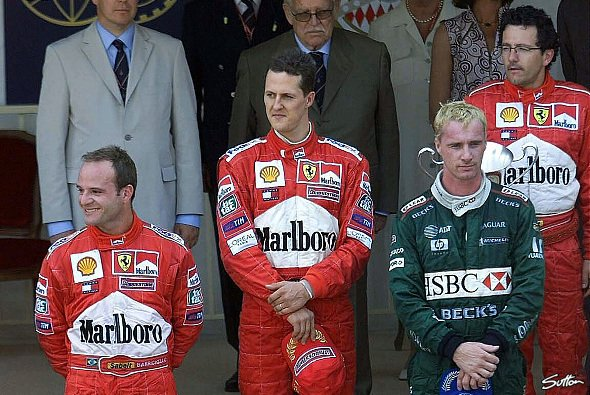Michael Schumacher gewann 2001 in Monaco - Foto: Sutton