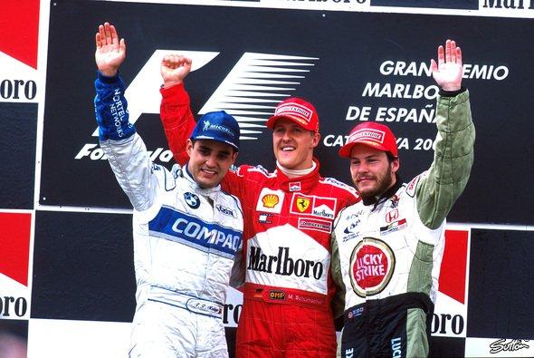Jacques Villeneuve gewann 1997 die WM auf Williams