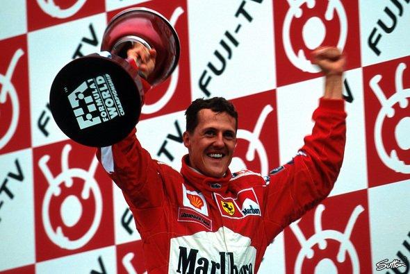 Michael Schumacher hat seinen Leben lang Kampfgeist bewiesen - Foto: Sutton