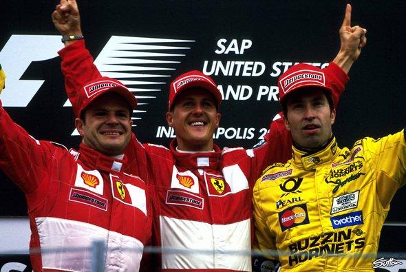 Michael Schumacher und Heinz-Harald Frentzen waren nie Freunde