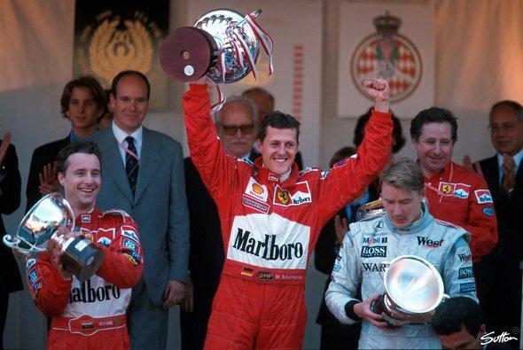 Michael Schumacher legte mit dem Start 1999 den Grundstein für Monaco-Sieg Nr. 4 - Foto: Sutton