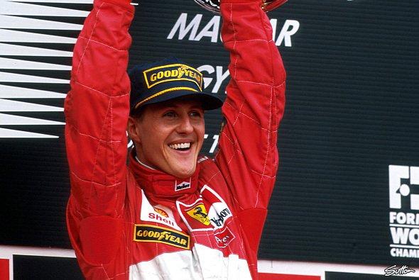 Michael Schumachers Rekord von 91 Formel-1-Siegen hatte 14 Jahre Bestand - Foto: Sutton