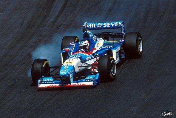 Gerhard Berger startete 1997 im Benetton