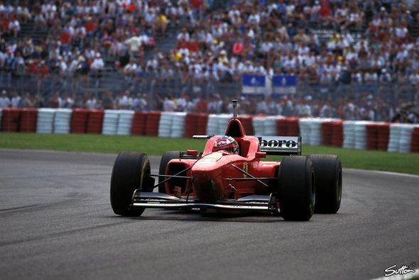 Der Kanada GP 1996 war für Michael Schmacher gespickt von Ferrari-Defekten - Foto: Sutton