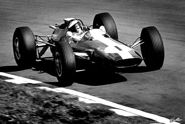 Jim Clark 1964 im Lotus - Foto: Sutton