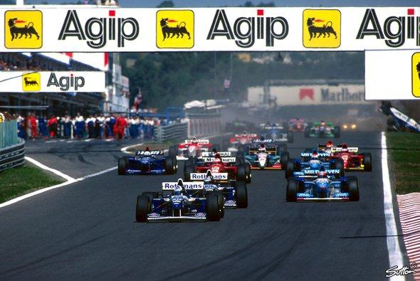 1996 fand zum letzten Mal ein Formel-1-Rennen in Portimao statt - Foto: Sutton