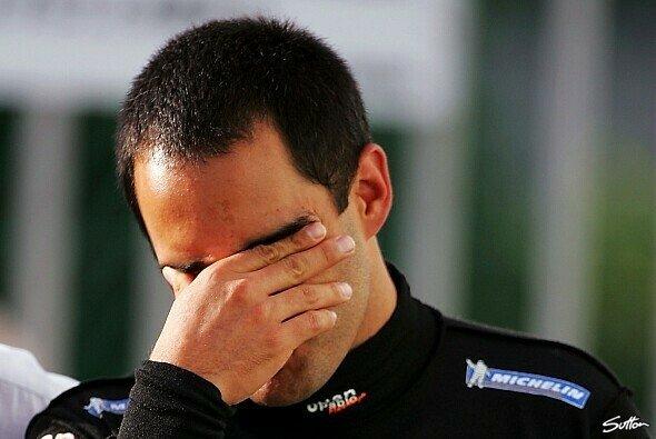Juan Pablo Montoya spielte 2005 in seiner Freizeit wahlweise Tennis oder fuhr Motocross - Foto: Sutton
