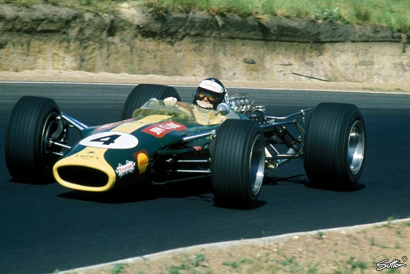 Der Lotus 49 - Foto: Sutton