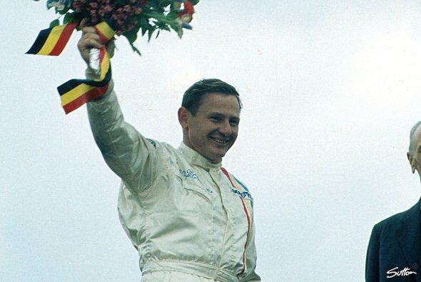 Bruce McLaren gewann 1968 in Spa-Francorchamps das erste Rennen für sein Team - Foto: Sutton