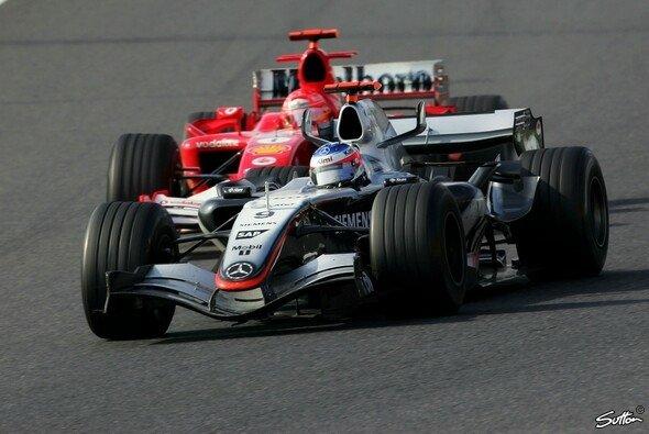 Kimi Räikkönen sorgte 2005 in Suzuka für eine der größten Aufholjagden der Formel-1-Geschichte - Foto: Sutton