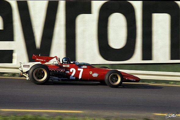 Jacky Ickx beim Rennen in Spa 1970