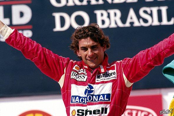 Unvergessen: Ayrton Senna ist nicht nur für die Brasilianer der größte Formel-1-Pilot aller Zeiten
