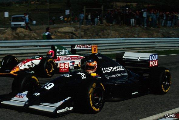 Sauber feierte 1993 den Einstieg in den Grand-Prix-Sport: Karl Wendlinger im C12 in Portugal
