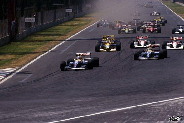 Die Formel 1 war letztmals 1992 auf dem Hermanos Rodriguez Circuit unterwegs